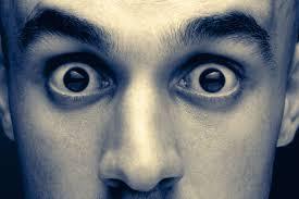 Scary Eye Contact