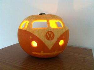 VW Camper van Pumpkin