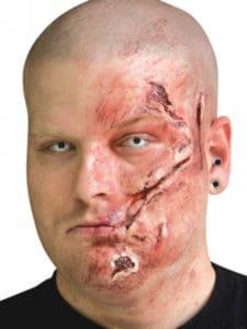 Gory Halloween Makeup