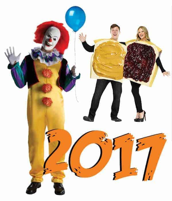 Popular Halloween Costumes 2017