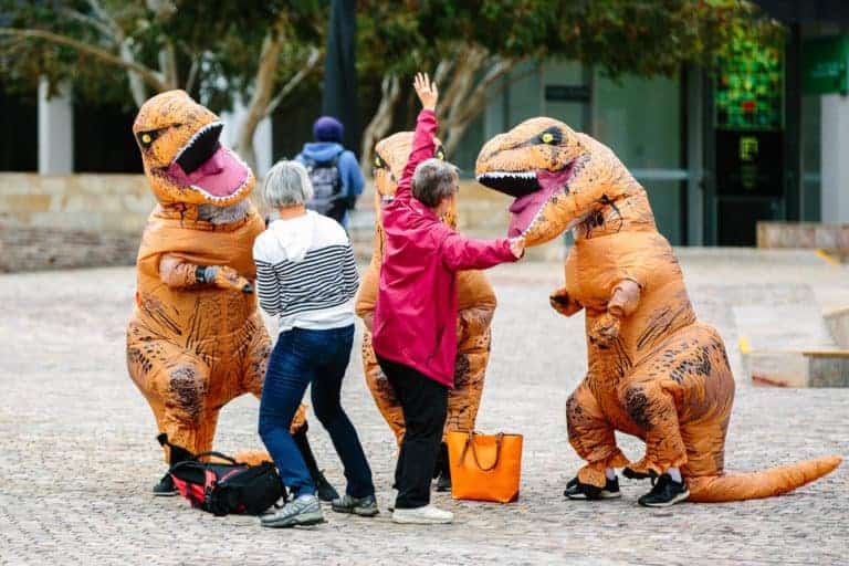 Inflatable Dinosaur Costumes