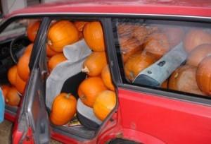 Pumpkin prank