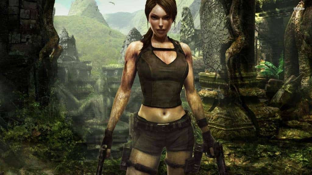 Lara Croft Video Game