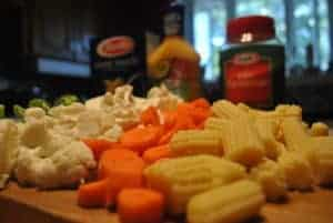 cut-veggies-for-pasta-salad