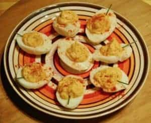 pleasently-pumpkin-devilled-eggs