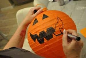 draw-a-face-on-a-lantern-for-a-summer-jack-o-lantern