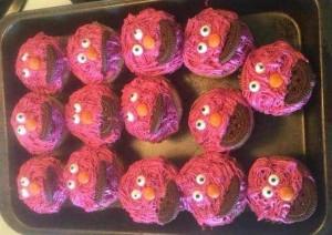 Elmo-Cupcake