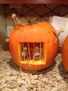 skeleton-pumpkin-carving-jail