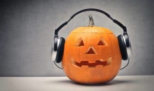 jack-o-lantern-wearing-headphones