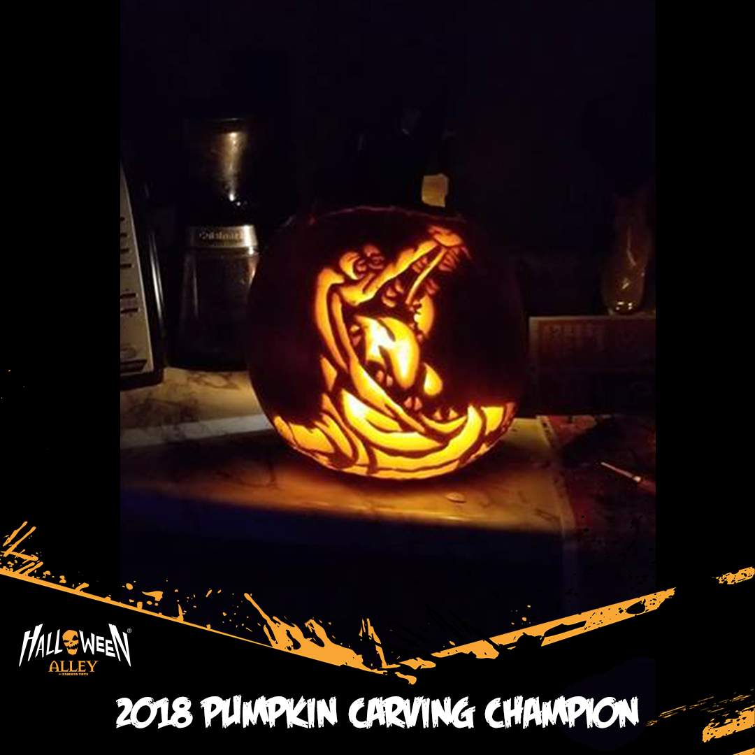 Pumpkin contest winner